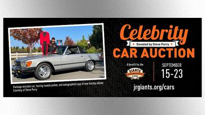 Still it rides: Ex-Journey singer Steve Perry auctioning his favorite car for charity