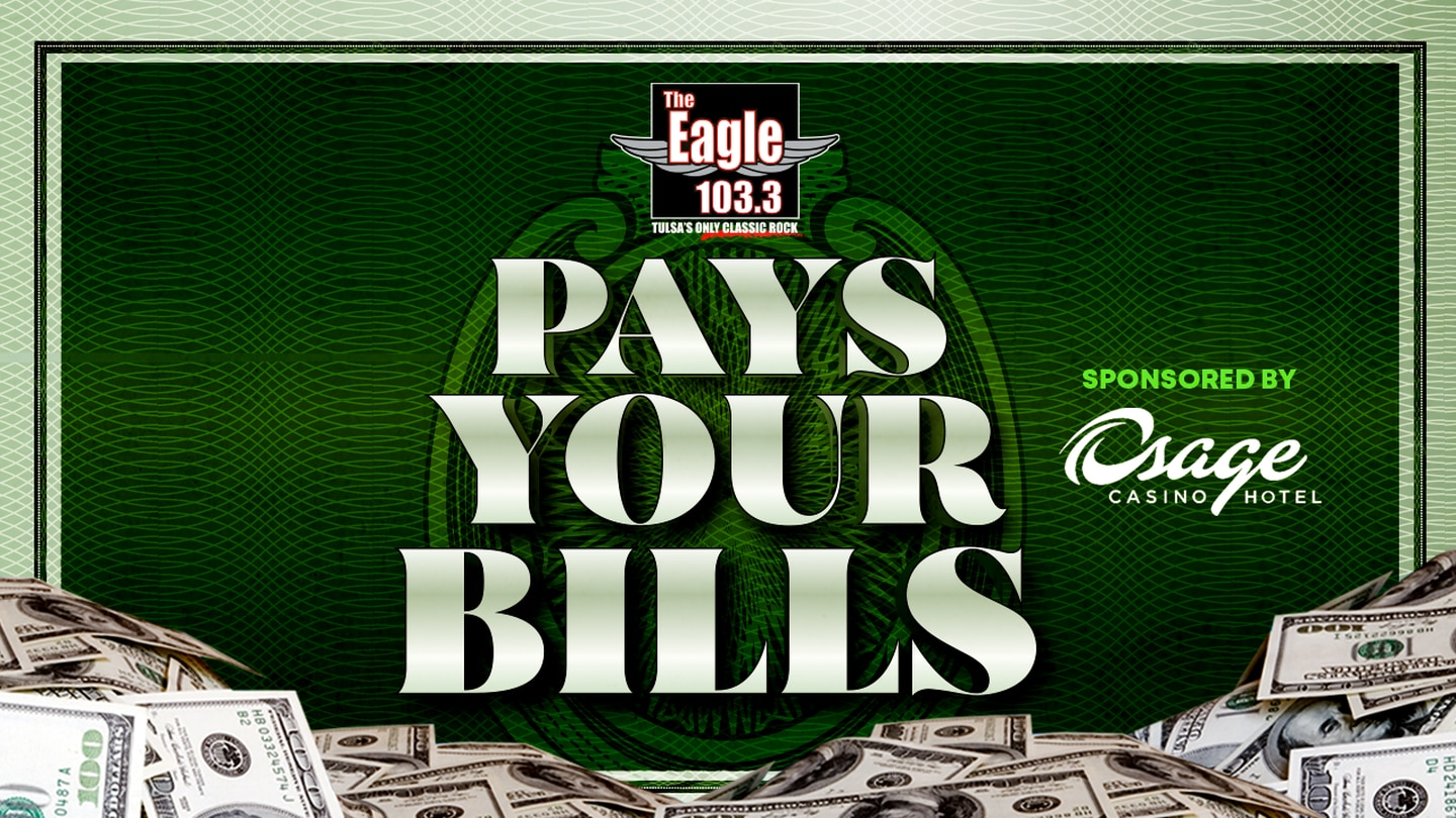 103.3 The Eagle Pays Your Bills