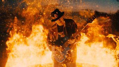 """Watch incendiary video for """"She's Fire,"""" Santana's new collaboration with Diane Warren, G-Eazy"""