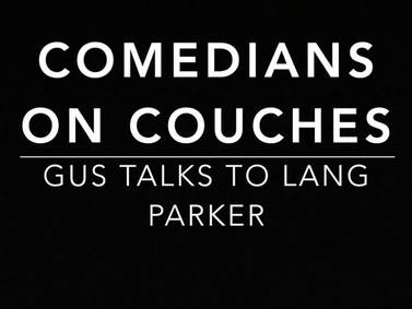 Comedians on Couches: Lang Parker