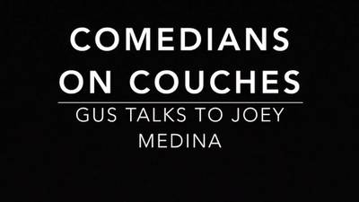 Comedians on Couches: Joey Medina