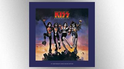 Shout It Out Loud! KISS is releasing a deluxe 45th anniversary 'Destroyer' reissue in November